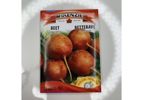 McKenzie Beet Golden Detroit Seeds