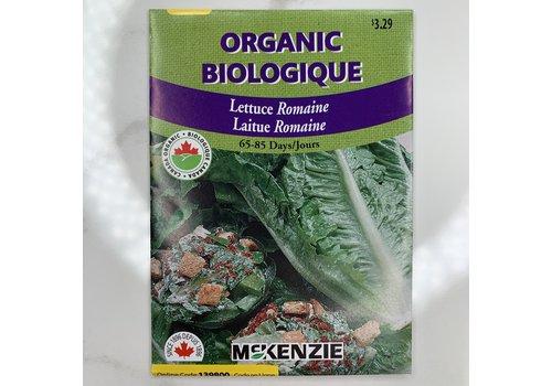 McKenzie Lettuce Romaine Organic Seeds
