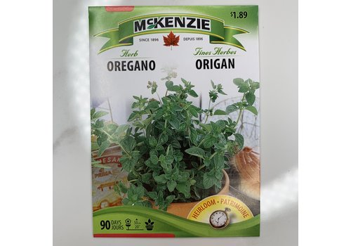 McKenzie Herb Oregano Seeds