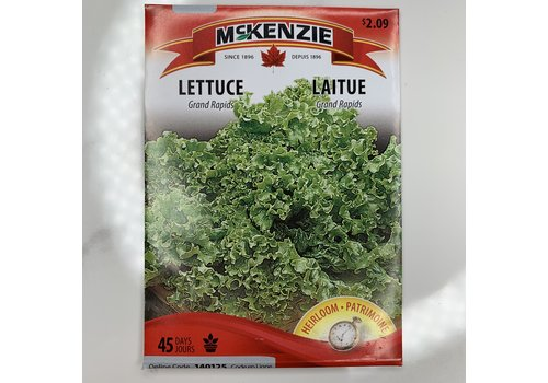 McKenzie Lettuce Grand Rapids Seeds