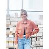 RD International Cropped Blush Jacket