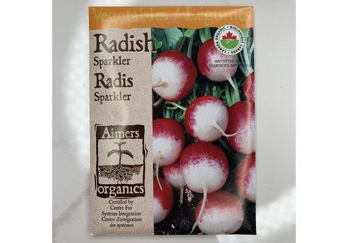 Aimers Organic Radish Sparkler Seeds