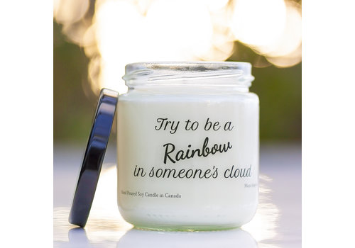 Soy Candle Try To Be A Rainbow