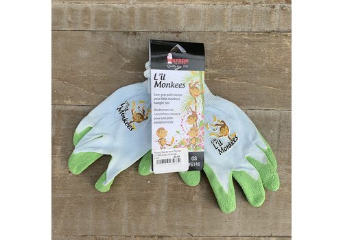 Watson Gloves Young Gardeners Gloves L'il Monkees X-Small