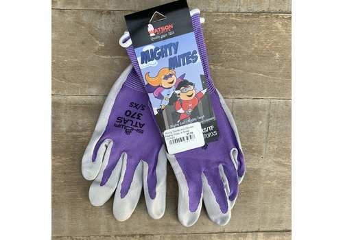 Watson Gloves Young Gardeners Gloves Mighty Mites X-Small