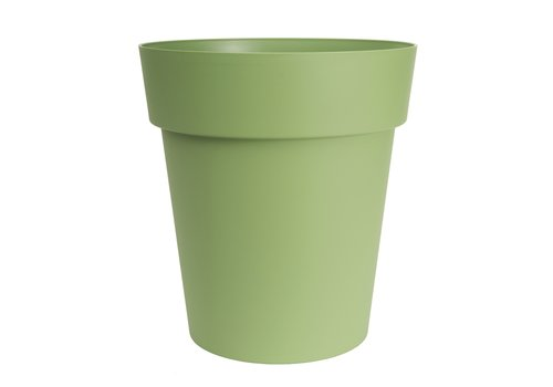 Viva Self Watering Round Planter Green