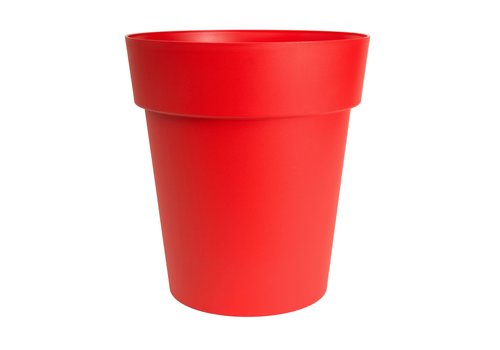 Viva Self Watering Round Planter Red