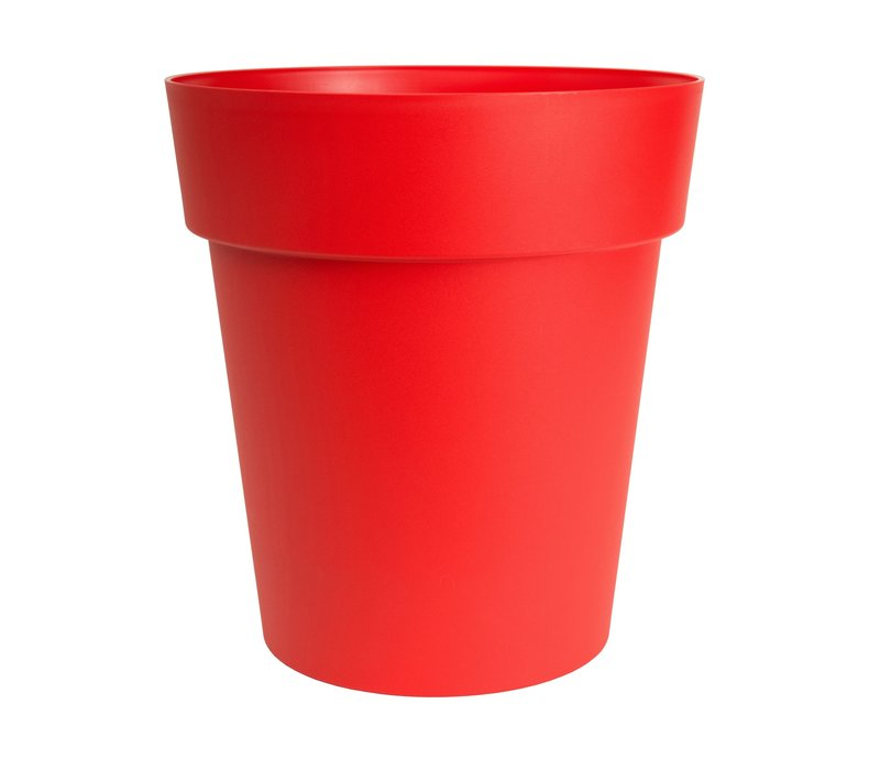 Viva Self Watering Round Planter Red