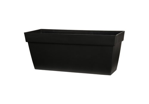 Viva Self Watering Rectangular Planter Black