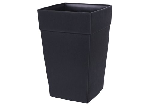 Harmony Self Watering Tall Planter Black
