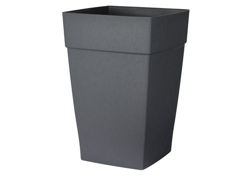 Harmony Self Watering Tall Planter Slate