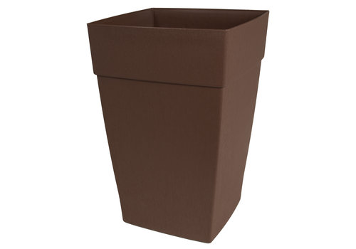 Harmony Self Watering Tall Planter Brown