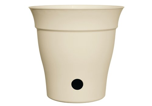 Contempra Self Watering Round Planter Cream