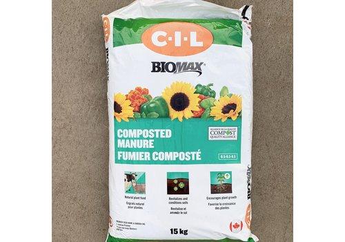 C-I-L Biomax Composted Manure 15kg