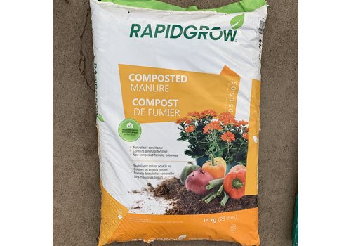 Rapid Grow Composted Manure 14kg