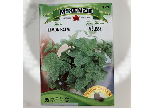 McKenzie Herb Lemon Balm Seeds
