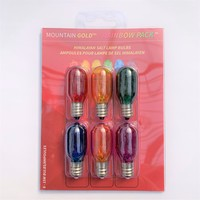 Salt Lamp Bulb Replacement Pack Rainbow