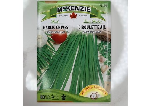 McKenzie Herb Garlic Chives Seeds