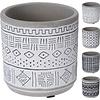Koopman International Geometric Flower Pot Ceramic