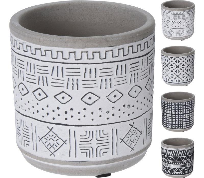 Geometric Flower Pot Ceramic