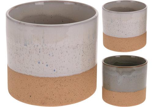 Koopman International Flower Pot Ceramic