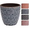 "Koopman International Flower Pot Ceramic Flower Pot Ceramic 5"""