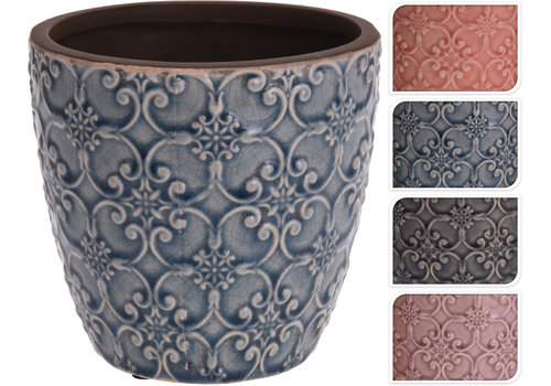 Koopman International Flower Pot Ceramic 5""