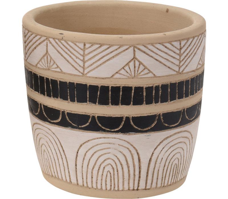 """Flower Pot Ceramic 3.5"""""""