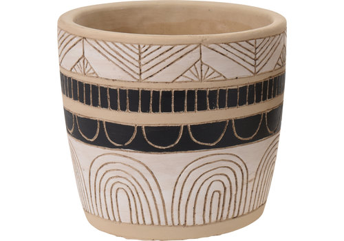 "Koopman International Flower Pot Ceramic 5.5"""