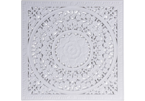 Koopman International White Wall Decoration 40cm