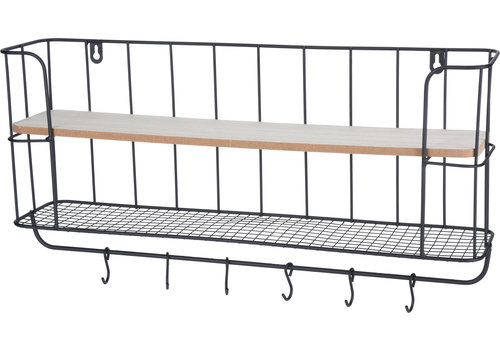 Koopman International Small Black Metal Display Rack