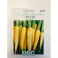 Carrots Solar Yellow Seeds