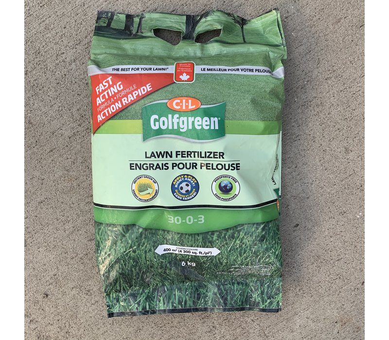 Lawn Fertilizer 30-00-03 6kg