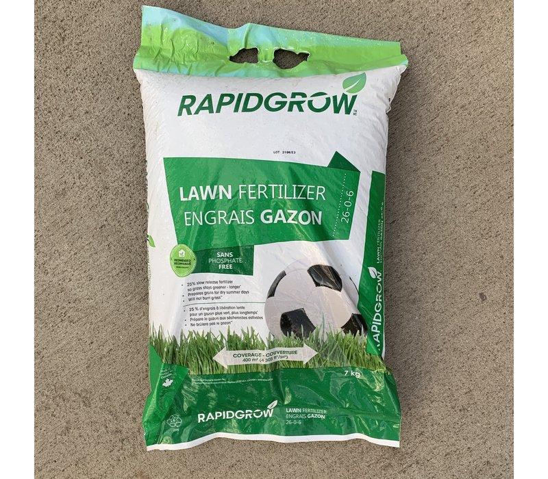 Lawn Fertilizer 26-0-6 7kg