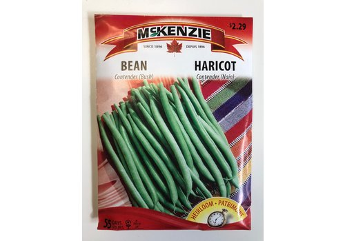 McKenzie Bean Contender Bush Seeds