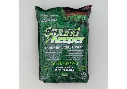 Ground Keeper Ground Keeper Lawn Fertilizer 16-10-3-17-3 12.5kg