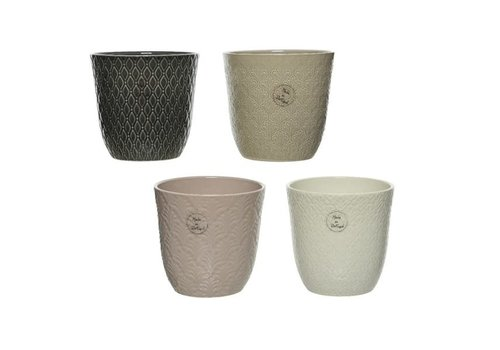 Kaemingk Textured Stoneware Planter