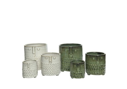 Kaemingk Stoneware Planter