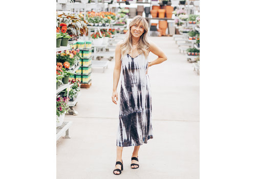 Ripe Clothing Company Tie Dye Maxi Dress