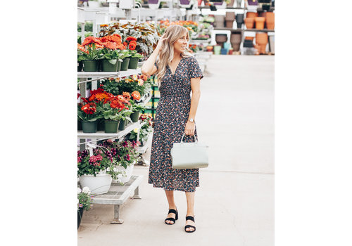 Ripe Clothing Company Floral Midi Dress