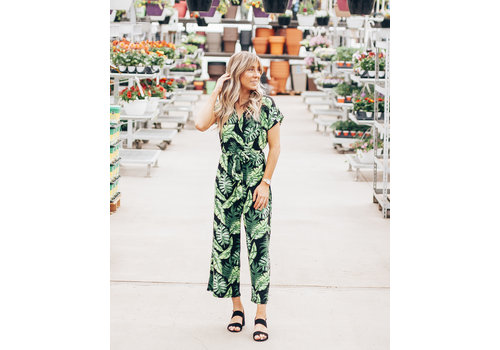 Ripe Clothing Company Tropical Printed Jumpsuit