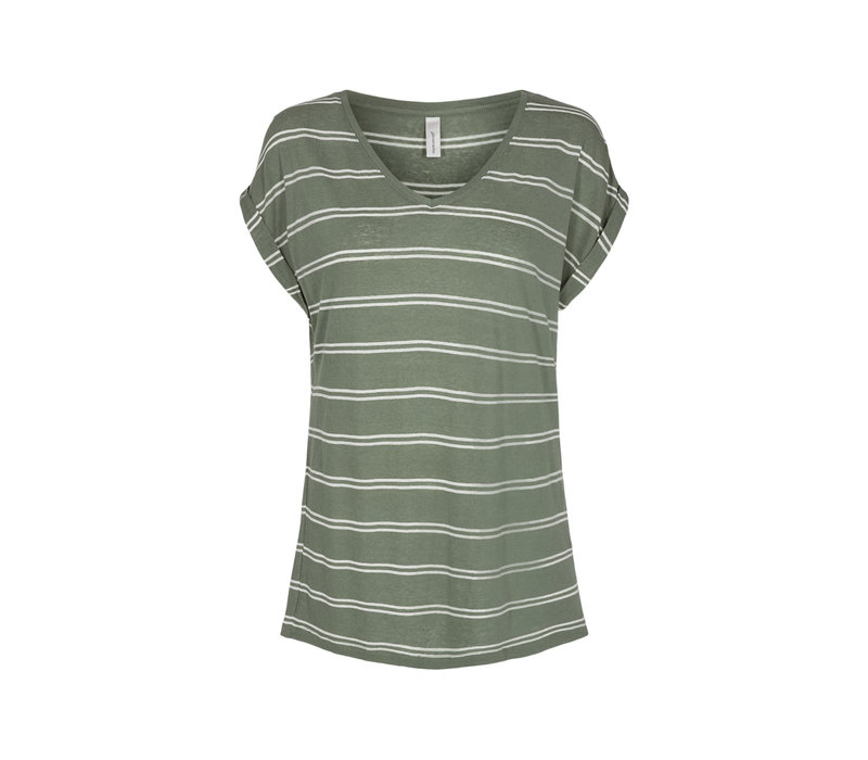 Isabel Stripe 2 Tee