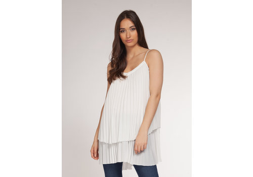 Dex Pleated Tank Top