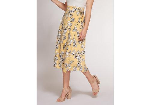 Dex Floral Midi Skirt