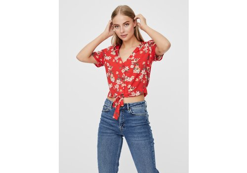 Vero Moda Simply Easy SS Shirt Tie Top