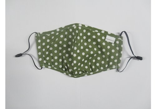 Papillon Polka Dot Double Layer Cotton Face Mask