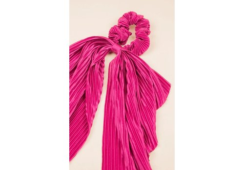 Philocaly Pleated Scrunchie Scarf