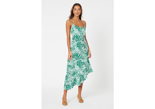 Mink Pink Feeling Fresh Midi Dress