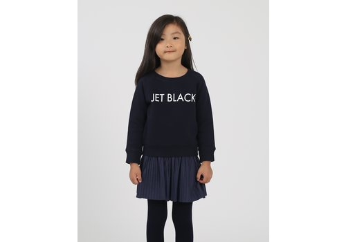 Brunette The Label Jet Black Kids Crew