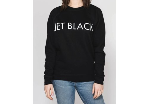 Brunette The Label Jet Black Crew
